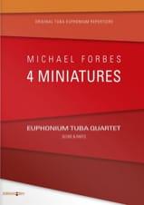 Four Miniatures Michael Forbes Partition Tuba - laflutedepan.com