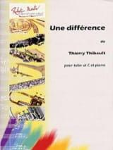 Une Différence - Thierry Thibault - Partition - laflutedepan.com