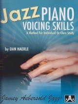 Jazz Piano Voicing Skills Dan Haerle Partition Jazz - laflutedepan