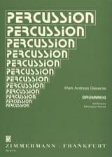 Drumming Mark Andreas Giesecke Partition laflutedepan.com
