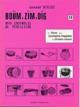 Gérard Berlioz - Boum, Zim, Dig. 12 Duos Volume H - Partition - di-arezzo.fr