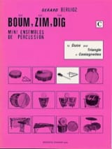 Boum, Zim, Dig. 12 Duos Volume C Gérard Berlioz laflutedepan.com