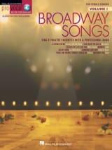 Pro Vocal Women's Edition Volume 1 - Broadway Songs laflutedepan.com