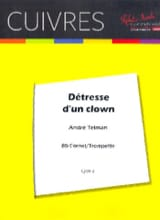 André Telman - Détresse D' Un Clown - Partition - di-arezzo.fr