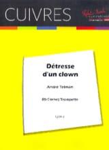 André Telman - Bedrängnis eines Clowns - Noten - di-arezzo.de