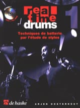 Arjen Oosterhout - Real Time Drums 1 - Drum Techniques By Studying Styles - Sheet Music - di-arezzo.com