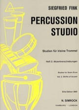Siegfried Fink - Studies For Snare Trommel Drum Volume 2 - Sheet Music - di-arezzo.co.uk