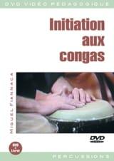 DVD - Initiation Aux Congas Miguel Fiannaca Partition laflutedepan.com