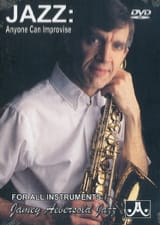 METHODE AEBERSOLD - DVD - Jazz: Anyone Can Improvise - Sheet Music - di-arezzo.co.uk