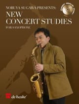 New Concert Studies Partition Saxophone - laflutedepan