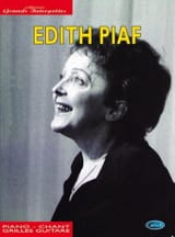 Collection Grands Interprètes Edith Piaf Partition laflutedepan.com
