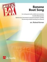 Banana boat song - music box Traditionnel Partition laflutedepan.com
