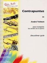 Contrapunctus André Telman Partition Trompette - laflutedepan.com