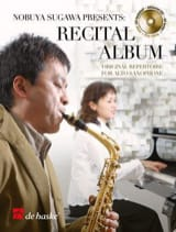 Recital album Partition Saxophone - laflutedepan.com