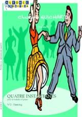 Christophe Guichard - Quatre Instantanés N° 2 Dancing - Partition - di-arezzo.fr