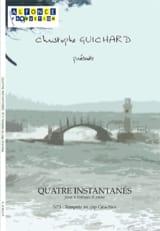 Christophe Guichard - Quatre Instantanés N° 3 Tempête Au Cap Gris-Nez - Partition - di-arezzo.fr