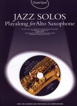 Guest Spot - Jazz Solos Playalong For Alto Saxophone laflutedepan.com