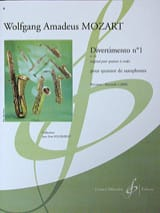 Wolfgang Amadeus Mozart - Divertimento N° 1 K 136 - Partition - di-arezzo.fr