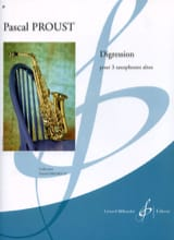 Pascal Proust - Digression - Sheet Music - di-arezzo.com