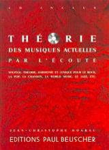 Jean-Christophe Hoarau - Théorie des Musiques Actuelles par l' Ecoute - Partition - di-arezzo.fr
