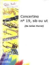 Julien Porret - Concertino N° 19 - Partition - di-arezzo.fr