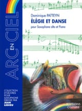 Dominique Patteyn - Elégie Et Danse - Partition - di-arezzo.fr