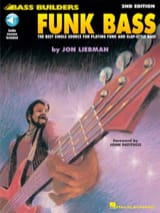 Funk Bass - 2nd Edition Jon Liebman Partition Guitare - laflutedepan