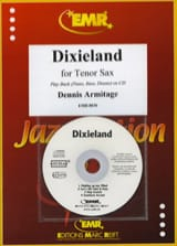 Dixieland For Tenor Sax Dennis Armitage Partition laflutedepan.com