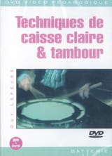 Guy Lefèvre - DVD - Drum Techniques - Trommel - Noten - di-arezzo.de