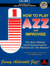 Jamey Aebersold - Volume 1 - How To Play Jazz And Improvise - Partition - di-arezzo.fr