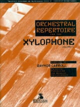 Orchestral repertoire for the xylophone volume 2 - laflutedepan.com