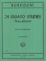 24 Legato Studies Vocalises Marco Bordogni Partition laflutedepan.com