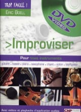 Eric Boell - Improvise - Sheet Music - di-arezzo.co.uk