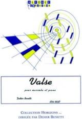 Didier Benetti - Valse - Partition - di-arezzo.fr