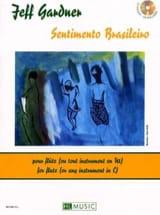 Sentimento Brasileiro Jeff Gardner Partition laflutedepan.com
