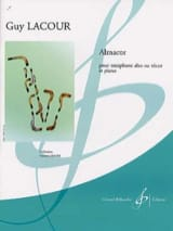 Almacor - Guy Lacour - Partition - Saxophone - laflutedepan.com