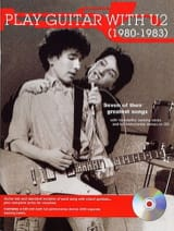 U2 - Play Guitar With U2 1980-1983 - Partition - di-arezzo.fr