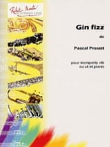 Pascal Proust - Gin Fizz - Partition - di-arezzo.fr