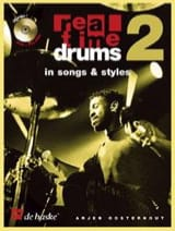 Arjen Oosterhout - Real Time Drums 2 - In Songs - Styles - Sheet Music - di-arezzo.co.uk