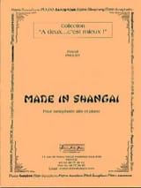 Made in Shangai Pascal Proust Partition Saxophone - laflutedepan.com