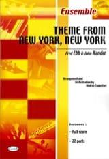 Theme From New York, New York John Kander Partition laflutedepan.com