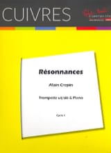 Alain Crepin - resonancias - Partitura - di-arezzo.es
