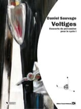Voltiges Daniel Sauvage Partition Multi Percussions - laflutedepan.com