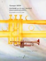 Giuseppe Verdi - Fantaisie Sur Un Bal Masqué - Partition - di-arezzo.fr