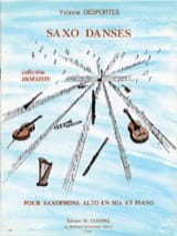 Yvonne Desportes - Saxo Dances - Sheet Music - di-arezzo.co.uk