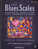 Dan Greenblatt - The Blues Scales Bb Version - Partition - di-arezzo.fr