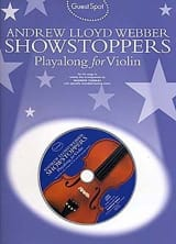 Guest Spot - Showstoppers Playalong For Violin - laflutedepan.com