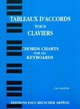 Tableaux D' Accords Tous Claviers - Ch. Lafitte - laflutedepan.com