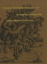 Johann Ernst Altenburg - Trumpeter's And Kettledrummer's Art - Livre - di-arezzo.fr