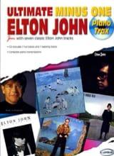 Elton John - Ultimate Minus One - Piano Trax - Partition - di-arezzo.fr